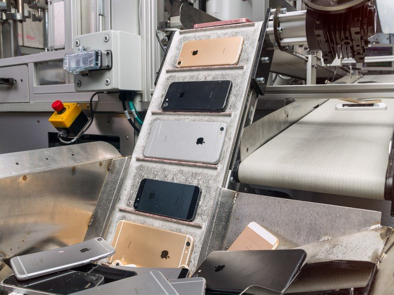 Apple's recycling firm resold products instead of dismantling them