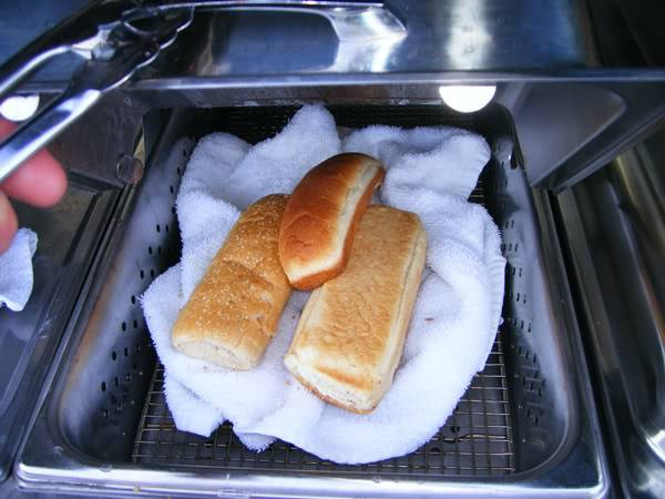 Best Way To Steam Hot Dog Buns
