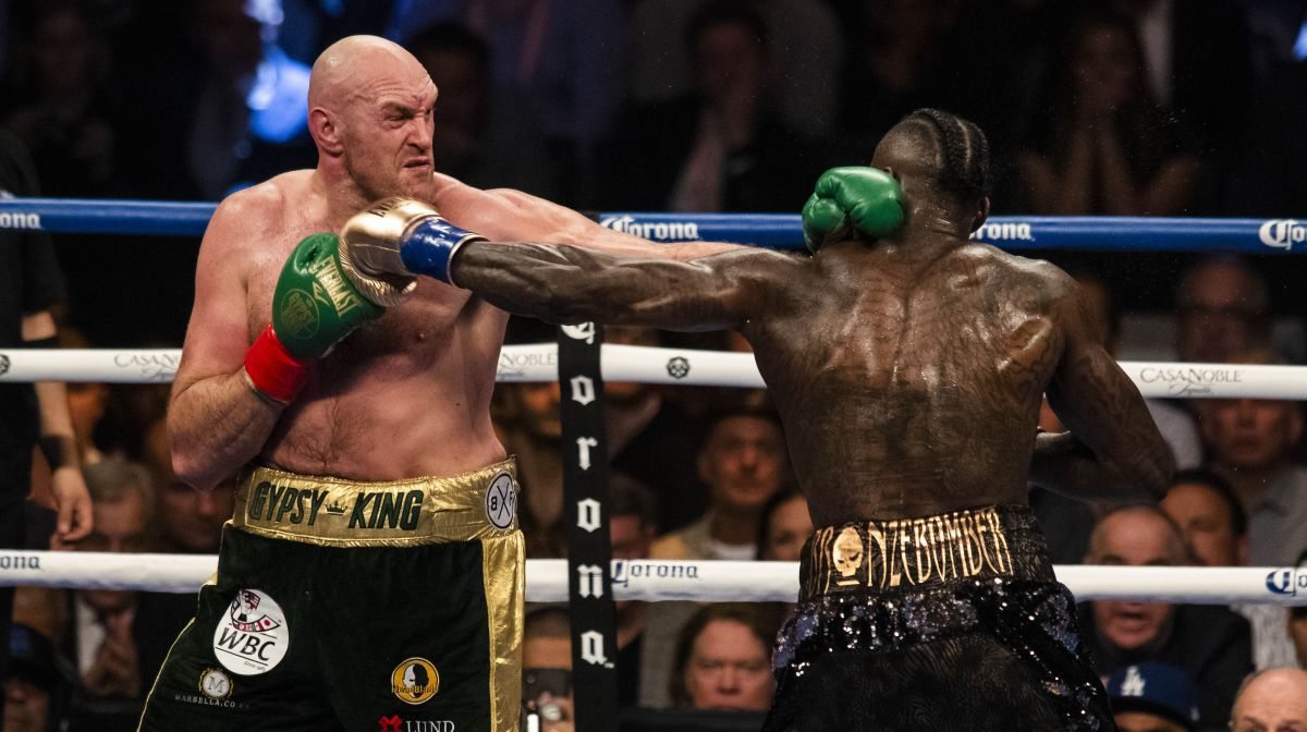 Fury Vs Wilder 2