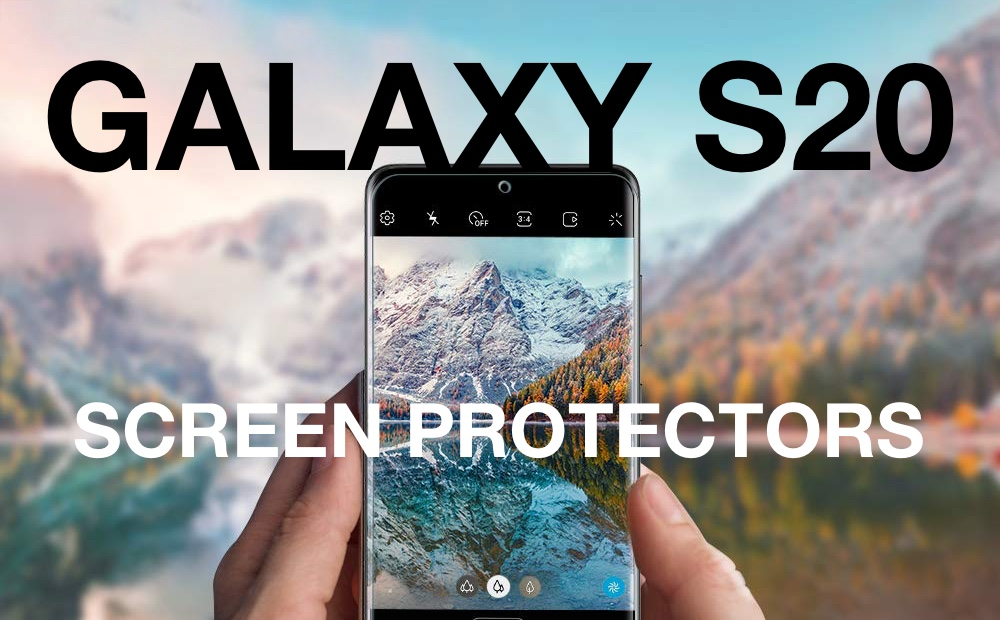 Best Galaxy S20 Ultra Screen Protectors Available Right Now