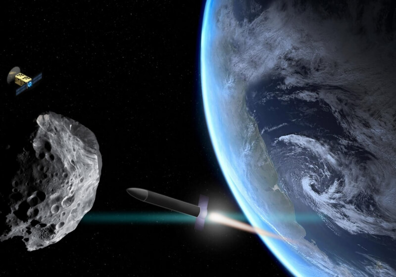 MIT developed a simulation to determine the best way to deflect an asteroid