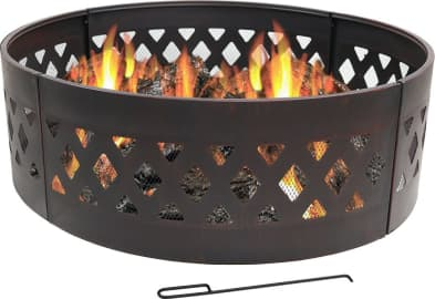 The 10 Best Metal Fire Pit Rings 2020