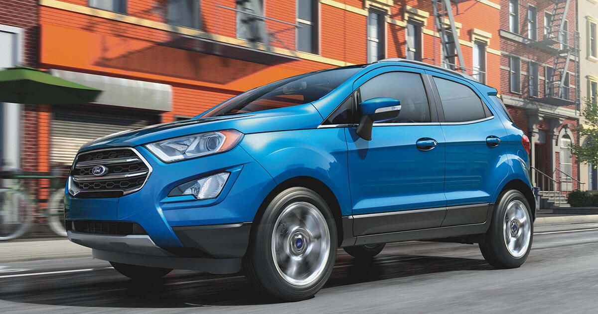 2020 Ford EcoSport: Model overview, pricing, tech and ...