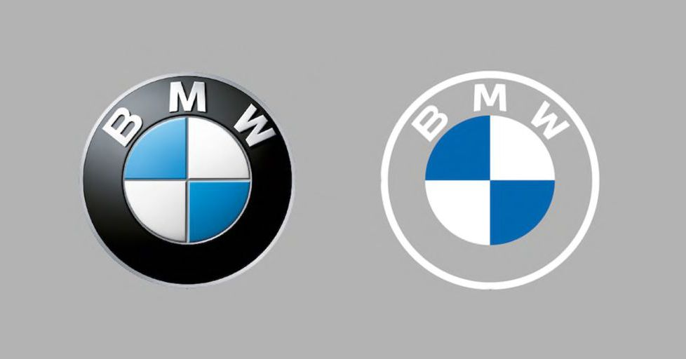 bmw s new flat logo is everything that s wrong with modern logo design bestgamingpro