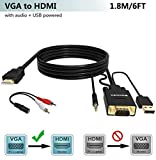 Top 10 Best Vga Adapter With Hdmi Audios 2020