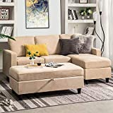 Top 10 Best Sectional Sofa With Ottomans 2020