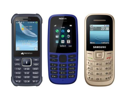 Buy with powerful batteries that 5 Best feature phone price 999 starting from Rs
