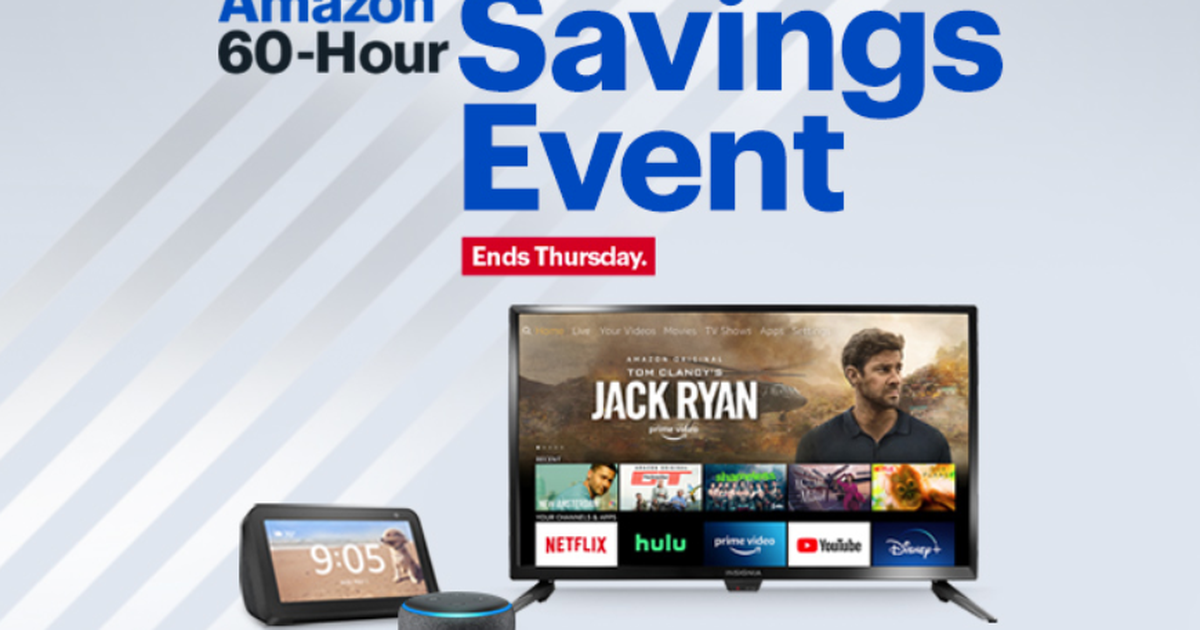 Final day for Prime Day deals at Best Buy: $55 Fire tablet, $45 Echo Show 5, $80 Kindle Paperwhite and more