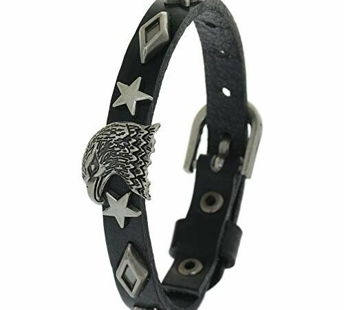 Top 10 Best Leather Bracelet With Eagle Charms 2020