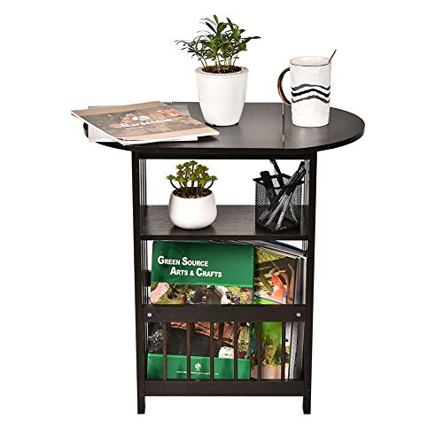 Top 10 Best End Table With Magazine Racks 2020