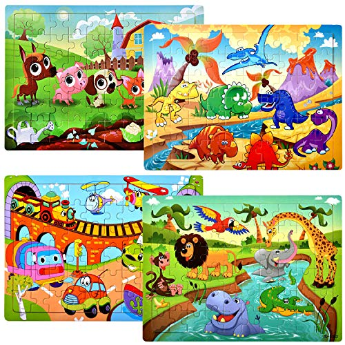 Top 10 Best Puzzles 4 Year Old Boys 2020