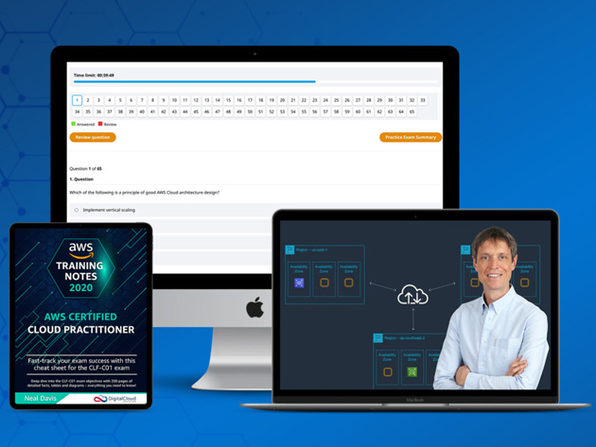 AWS Certified Cloud Practitioner Bundle Is Up For A Limited Time Discount Offer For A Few Days