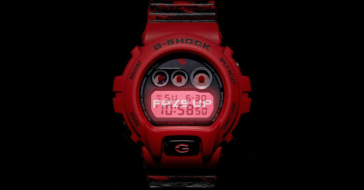 Exclusive: See G-Shock x FaZe Clan's Limited Edition Watch