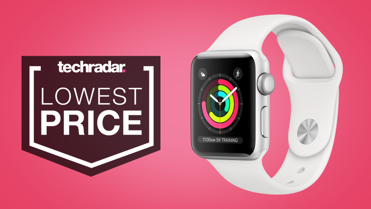 Hurry! The Apple Watch 3 is just $119 – its lowest price ever – on Amazon for Black Friday