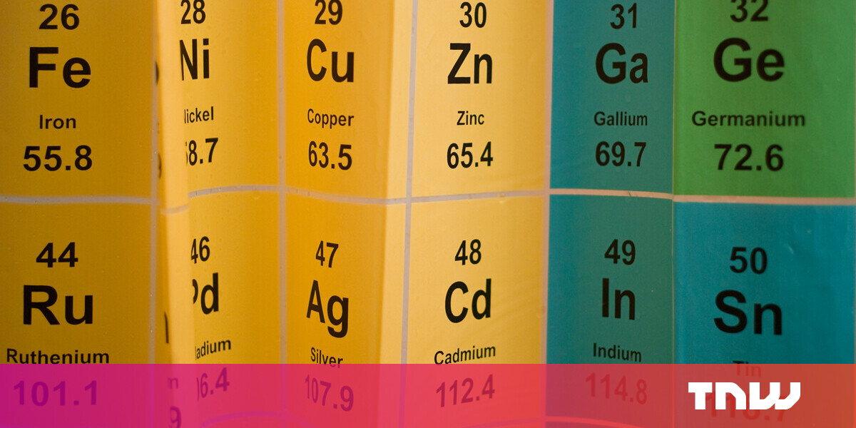 Scientists propose new way of ordering the elements