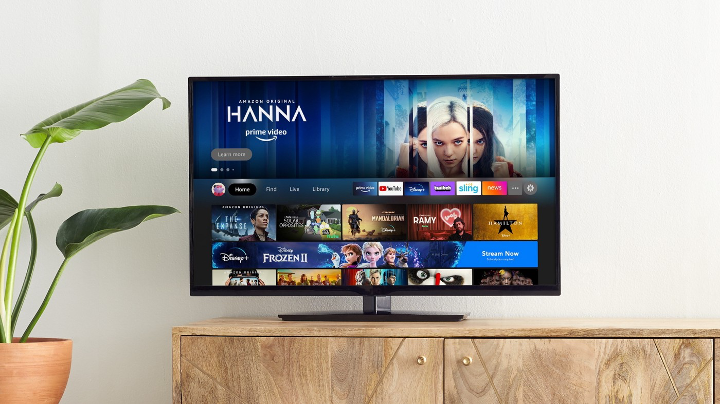 Amazon's redesigned Fire TV interface adds user profiles and a new look