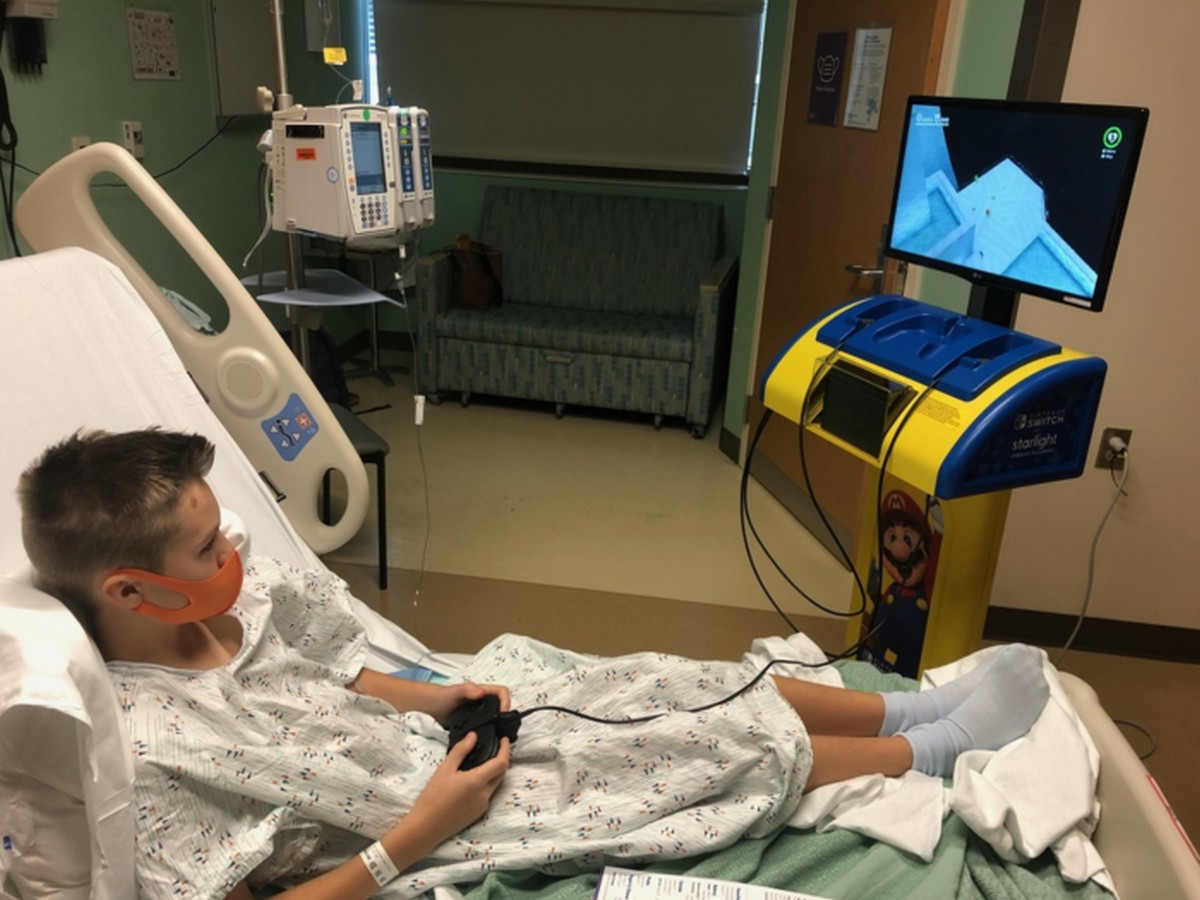 Nintendo Rolls Out A Hospital-Friendly Console
