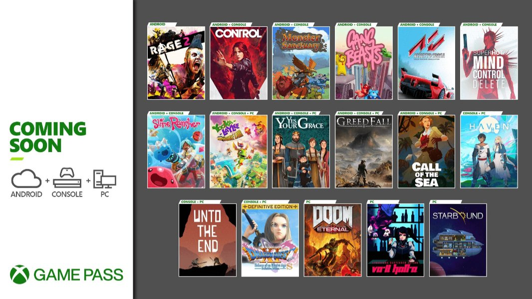 Numerous New Titles Coming to Xbox Game Pass in Early December
