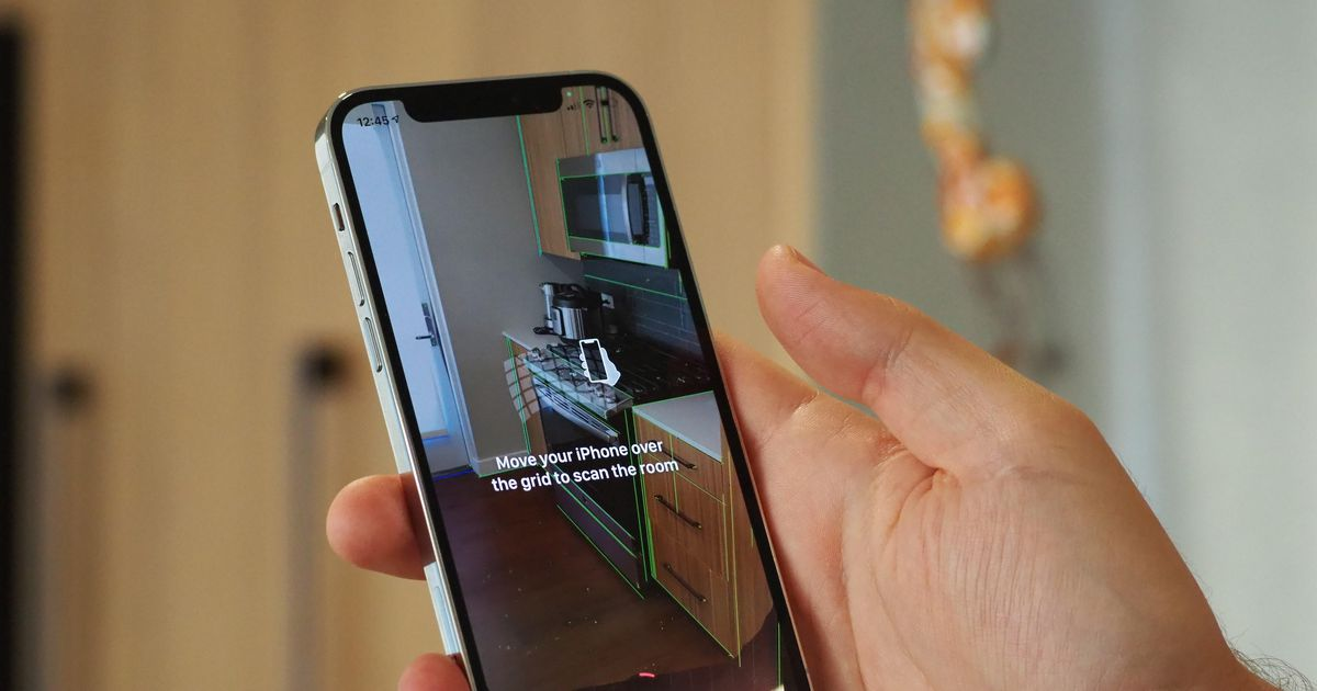 See what iPhone 12 Pro's new lidar feature can do with this 3D-scanning app