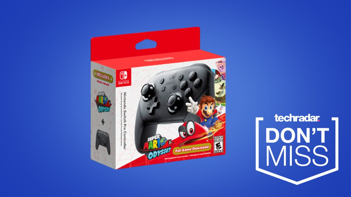 Super Mario Odyssey is free with this Nintendo Switch Pro Controller deal