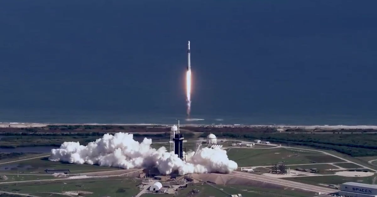 SpaceX delivers cargo to ISS during legendary 100th Falcon 9 launch