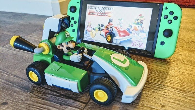 You can order Mario Kart Live: Home Circuit on Amazon now