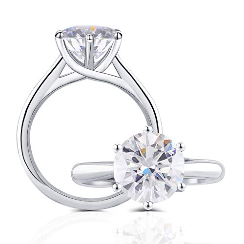 Top 10 Best of Quality Moissanite Engagement Rings 2021