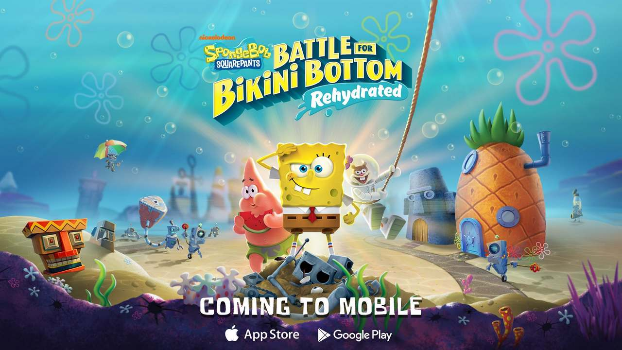 Battle for Bikini Bottom – Rehydrated will soon be playable on both Android and iOS mobile- Technology News, Firstpost