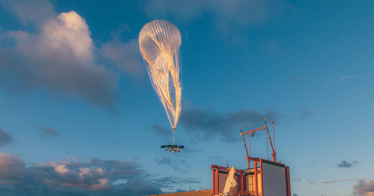 Google parent Alphabet to shut down Loon, its internet-beaming balloon project