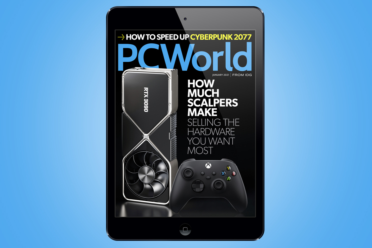 PCWorld's January Digital Magazine: How much scalpers make selling the hardware you want most