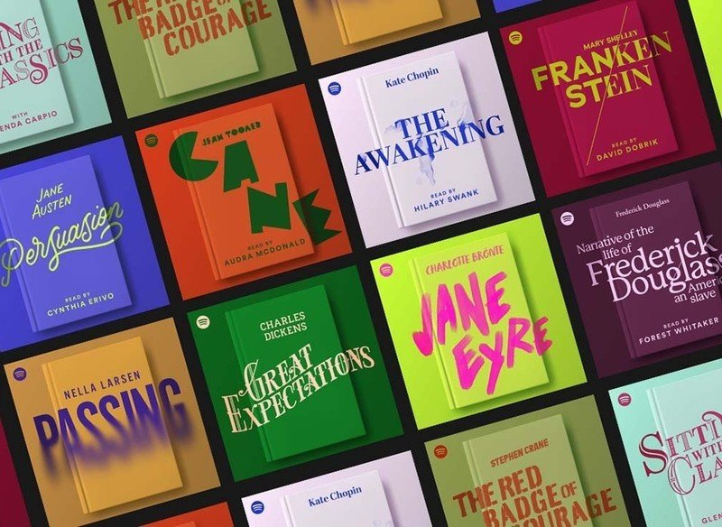 Spotify is testing audiobooks starting with literary classics like