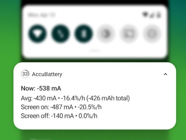 This Android app shows you everything you need to know about your smartphone's battery