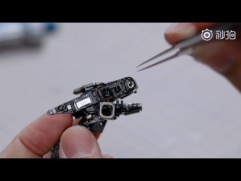Xiaomi Mi 11 Gets Disassembled And Transformed Into A Mechanical Dragon