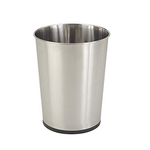 Top 10 Best Stainless Steel Bathroom Trash Cans 2021