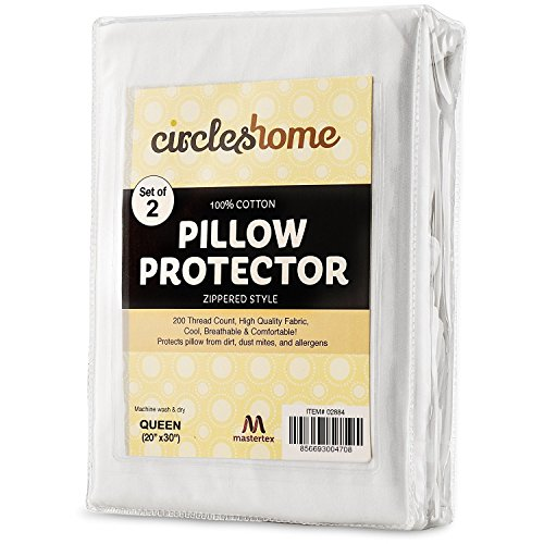 Top 10 Best Queen Pillow With Cotton Covers 2021
