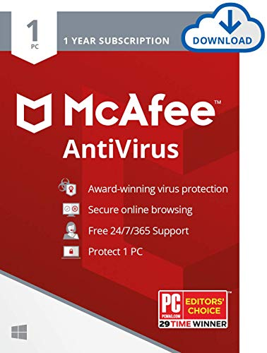Top 10 Best Mcafee Antiviruses 2021