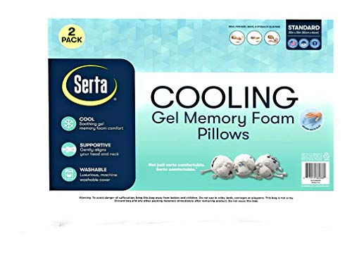 Top 10 Best Serta Cooling Pillows 2021