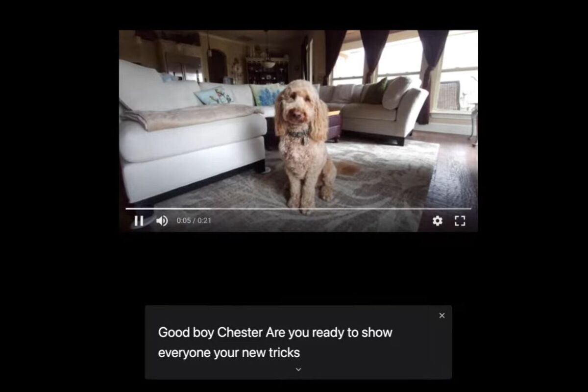 Chrome can now caption almost any video or audio