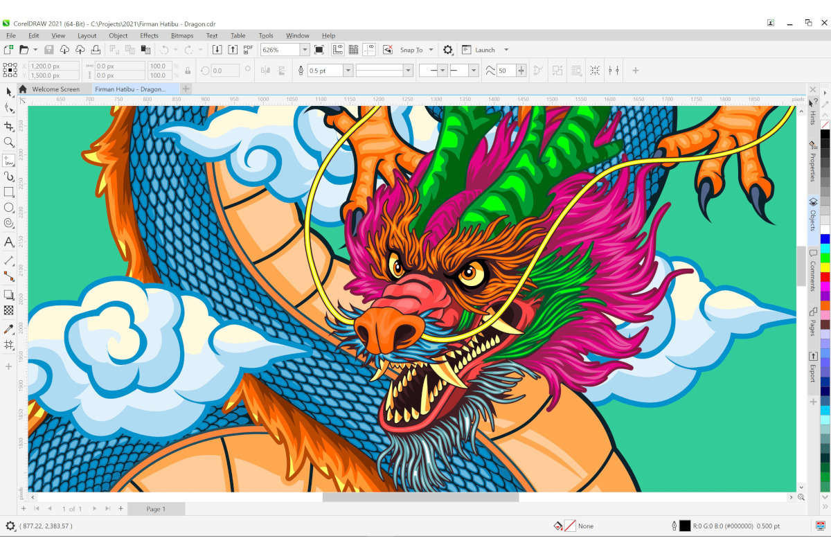 CorelDraw Graphics Suite 2021 makes life easier for artists working  remotely – Bestgamingpro