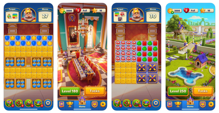 Istanbul's Dream Games snaps up $50M and launches its first game, the puzzle-based Royal Match – TechCrunch