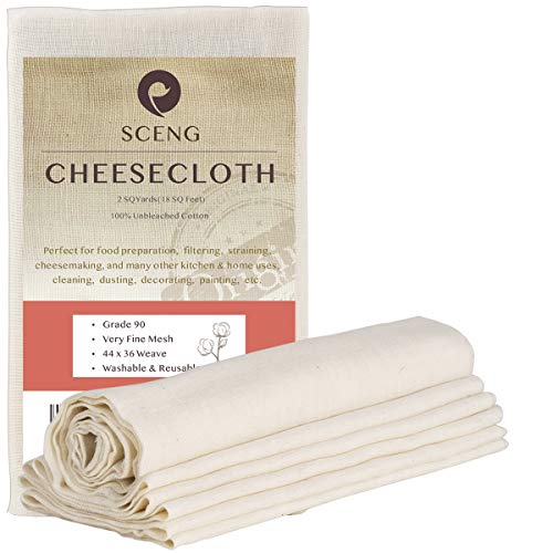 Top 10 Best Cheesecloth For Cleanings 2021
