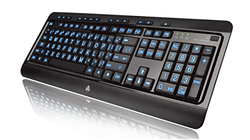 Top 10 Best C&e Lighted Keyboards 2021