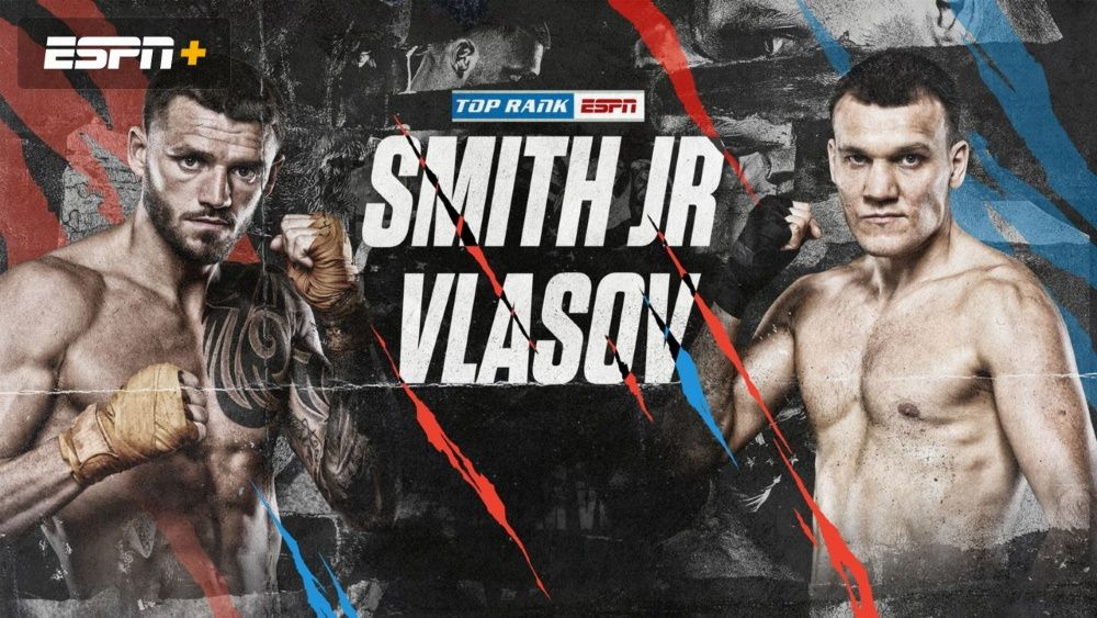 How to watch Smith Jr vs Vlasov: live stream fight online from anywhere