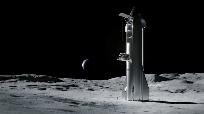 SpaceX wins NASA contract to develop human landing system for returning to the Moon – TechCrunch