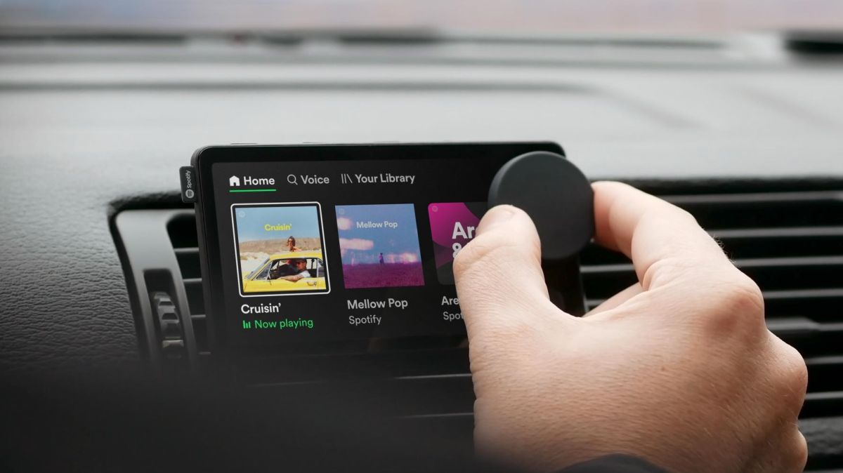 Spotify's Car Thing replaces your air vents with a smart music streaming device
