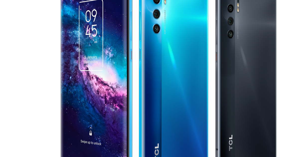 The new TCL 20 Pro 5G has a 6.67-inch AMOLED display with HDR10 support