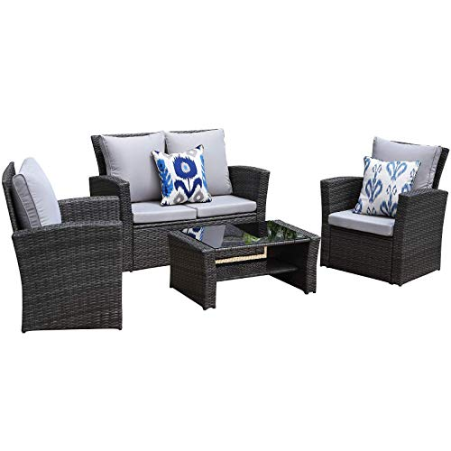 Top 10 Best Modern Home Patio Furniture Sets 2021