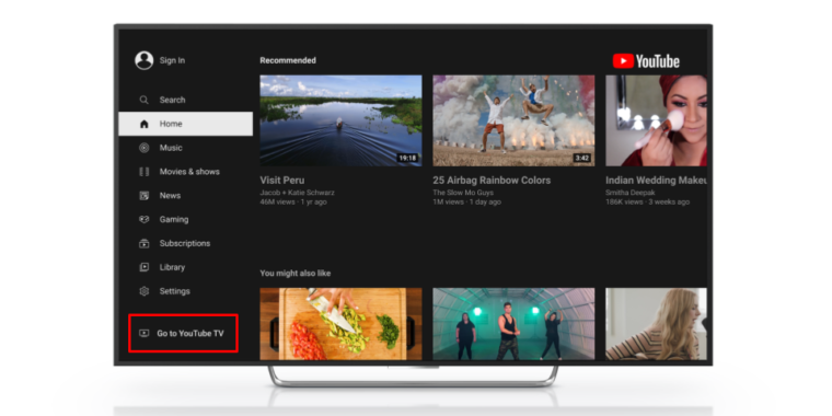 Google foils Roku's YouTube TV ban, adds service to the main YouTube app