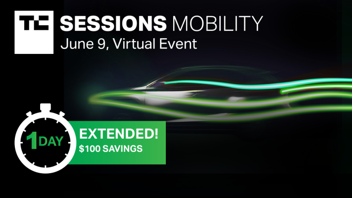 Mobility 2021 early-bird price extended for one more day – TechCrunch