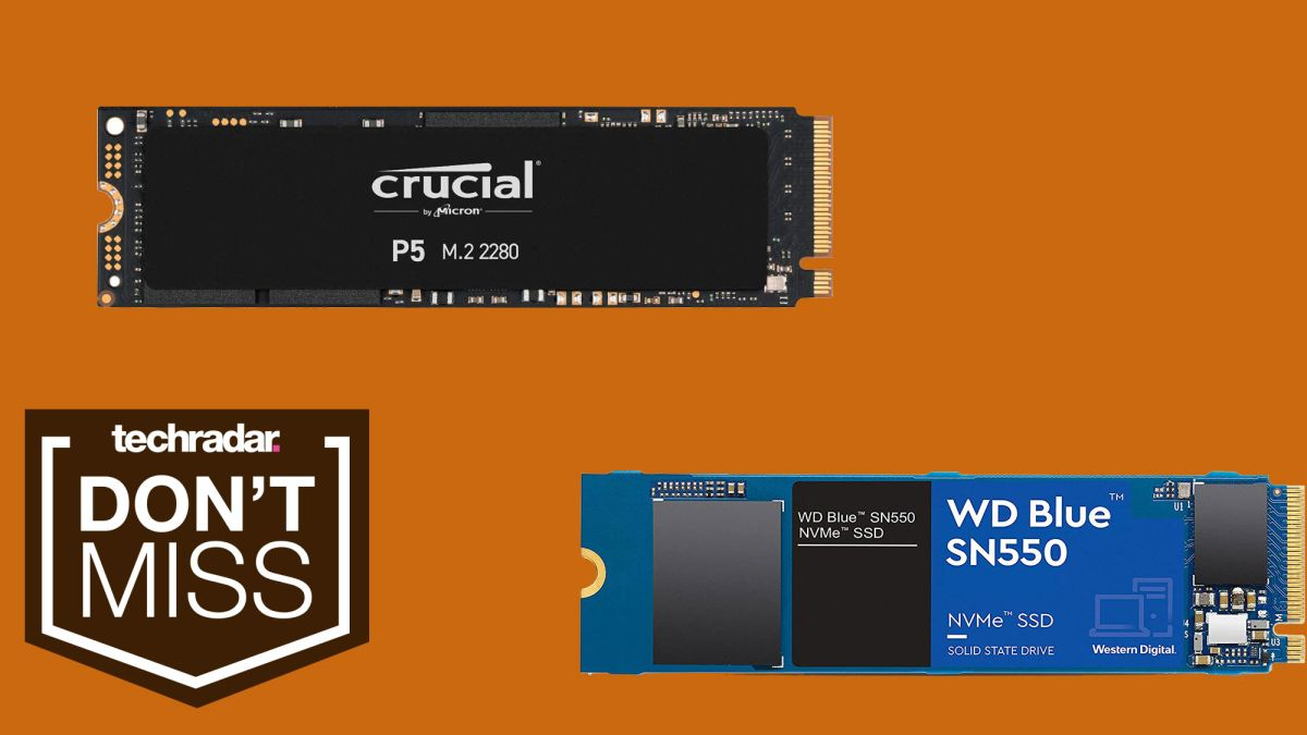 Crucial P5 vs WD Blue SN550: which cheap M.2 SSD should you buy on Prime Day?